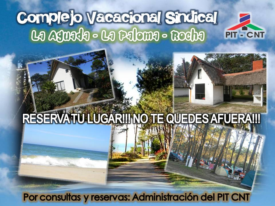 COMPLEJO VACACIONAL SINDICAL PIT CNT